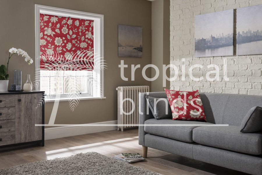Roman Blinds & Curtains
